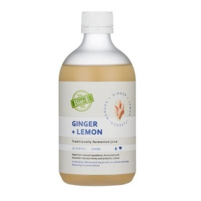 Bio-E 柠檬姜酵素 500ml Ginger+Lemon...